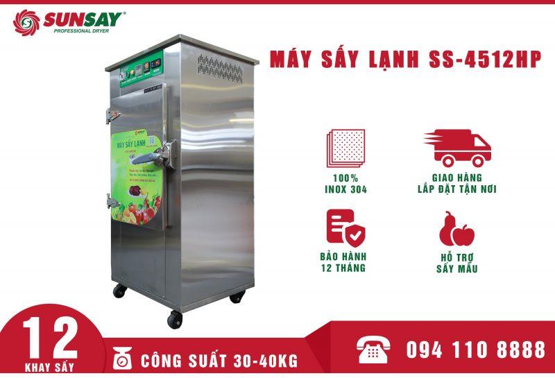 Máy sấy lạnh mini 12 khay SUNSAY