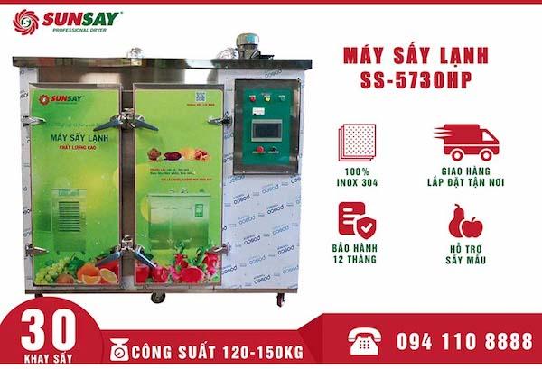 Máy sấy lạnh công nghiệp rất được ưa chuộng tại các khu chế biến nông sản