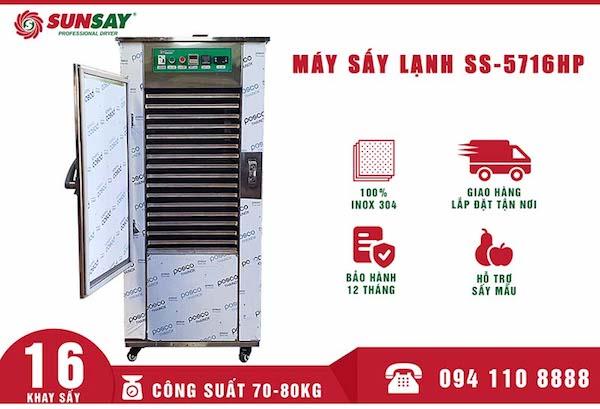 Sunsay Việt Nam cung cấp máy sấy lạnh chất lượng, hiệu quả cao